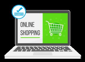 Ilustración de tienda online