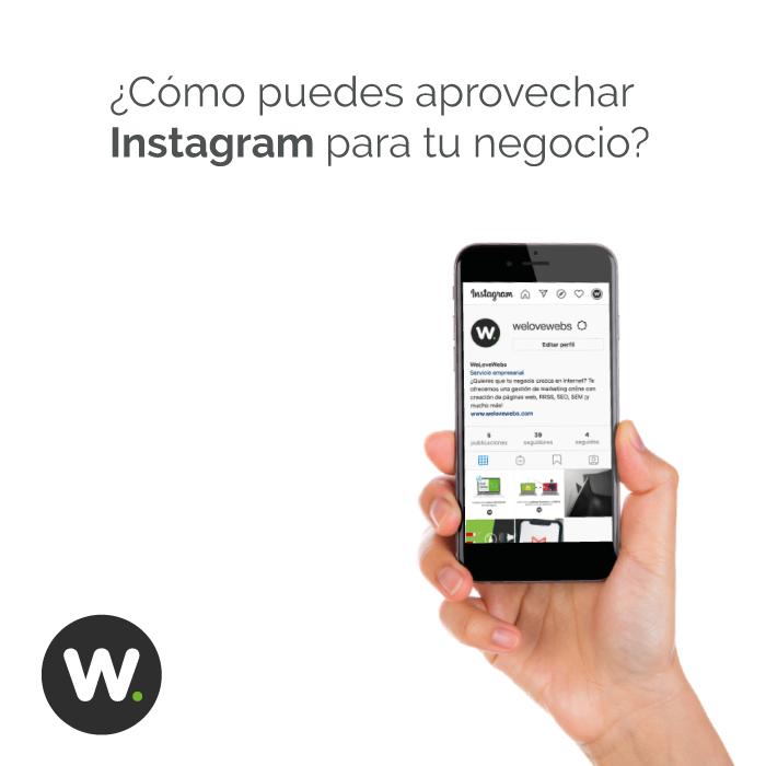 ¿Cómo puedes aprovechar Instagram para tu negocio?