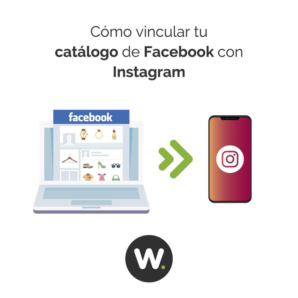 Cómo vincular el catálogo de Facebook con Instagram